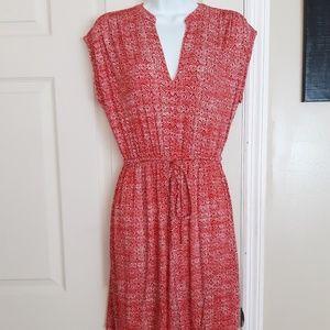 Loft Soft Cotton Sleeveless Dress